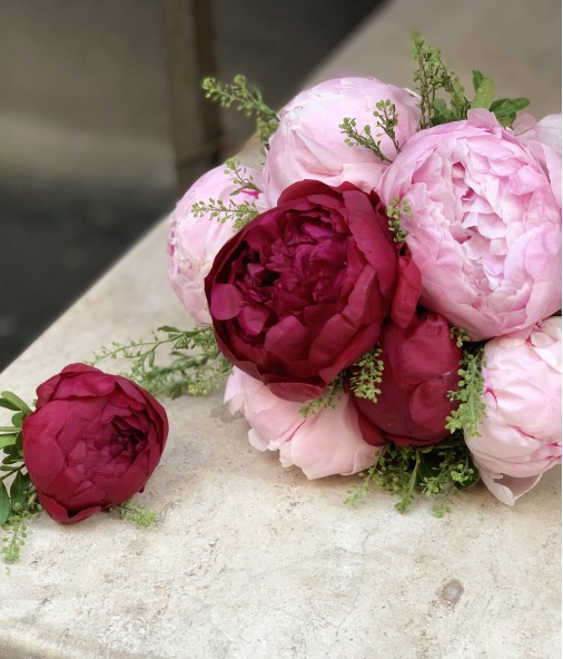 «Букет невесты №1» — 7 пионов